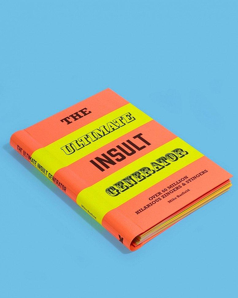 Valentine's Day Gift Idea - The Ultimate Insult Generator Book