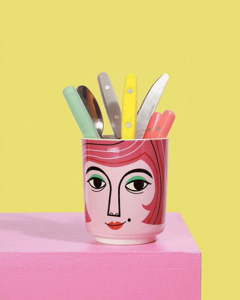 NEW - Mrs Peterson Ceramic Jar!