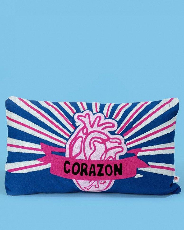 NEW - Corazon Cushion, Blue £39.95!