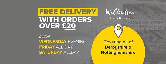 Our Delivery Days Are...