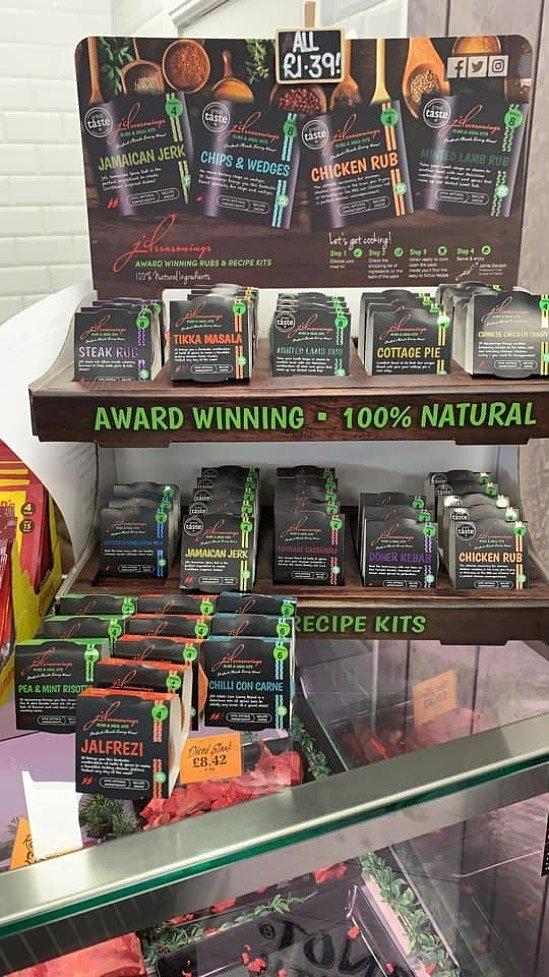 Fully stocked up on JD Seasonings - Rubs & Meal kits just £1.39 each!
