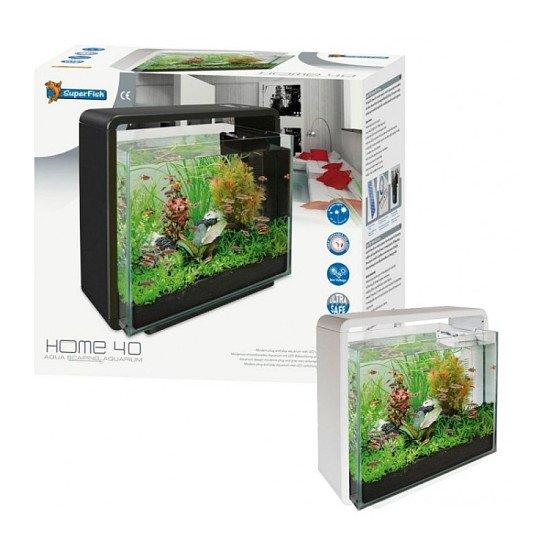 Superfish Home 40 Aquarium Black 40L - £97.58!