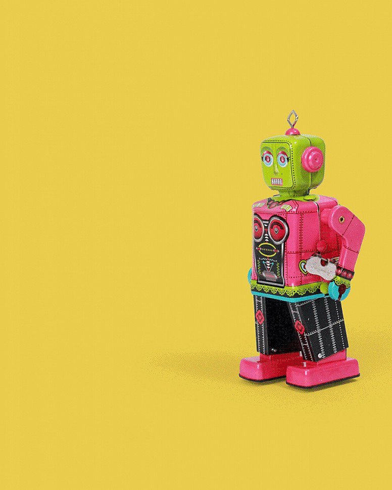 Roberta The Robot Tin Toy - £35.99!