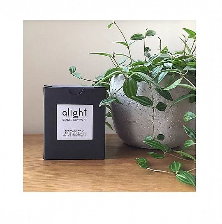 Signature Collection Soy Candles - Bergamot & Lotus Blossom Soy Candle: £15.00!