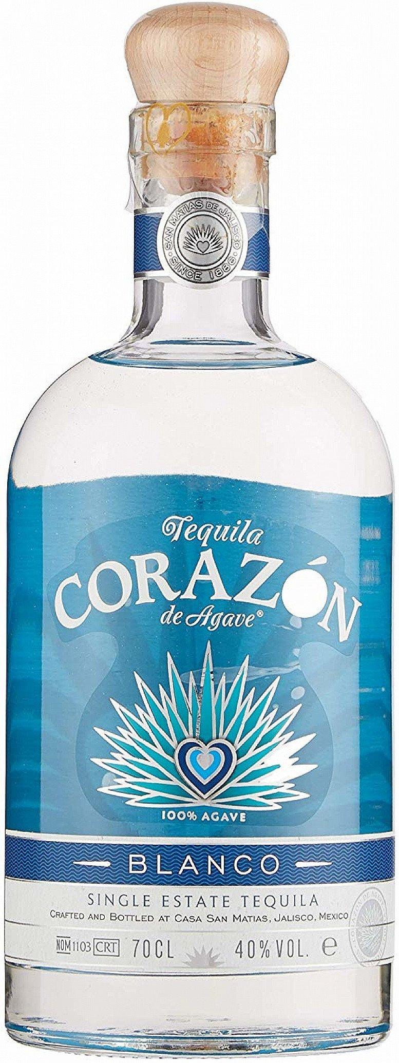 Corazon Blanco Single Estate Tequila 70CL - £30.50!