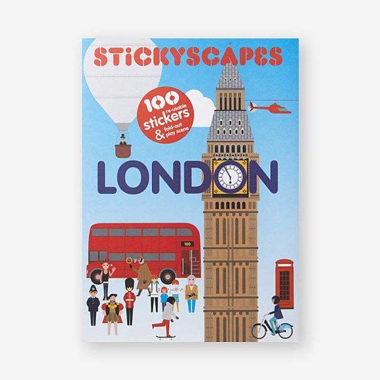 Kids Books - London Stickyscapes: £9.95!