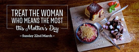 Mother's Day 2020 at Toby Carvery!