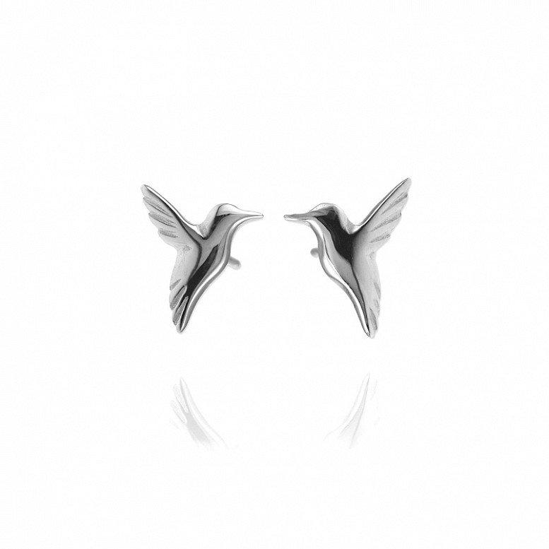 Win a pair of sterling silver hummingbird earrings by Jana Reinhardt - worth £69