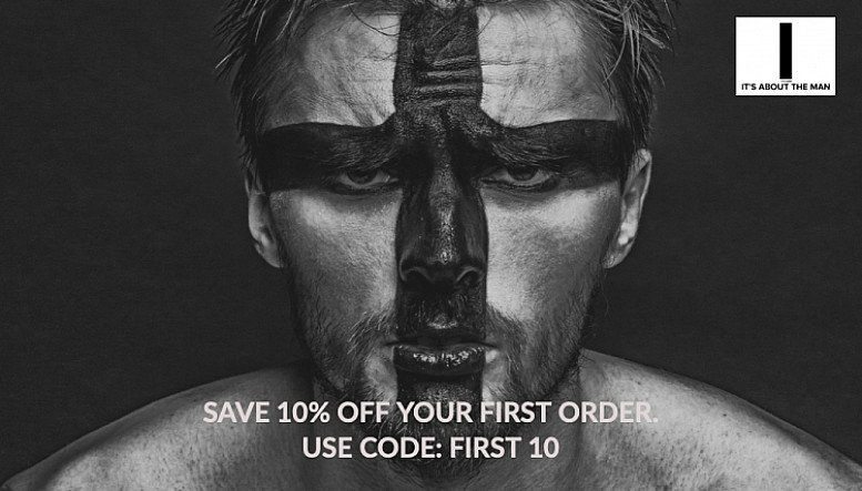 10% off It's About The Man