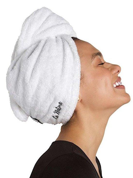 La Nature® Organic Cotton Hair Turban Towel - £23.00!