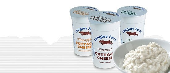 Try our English-Style Cottage Cheese: born and bred at Longley Farm!