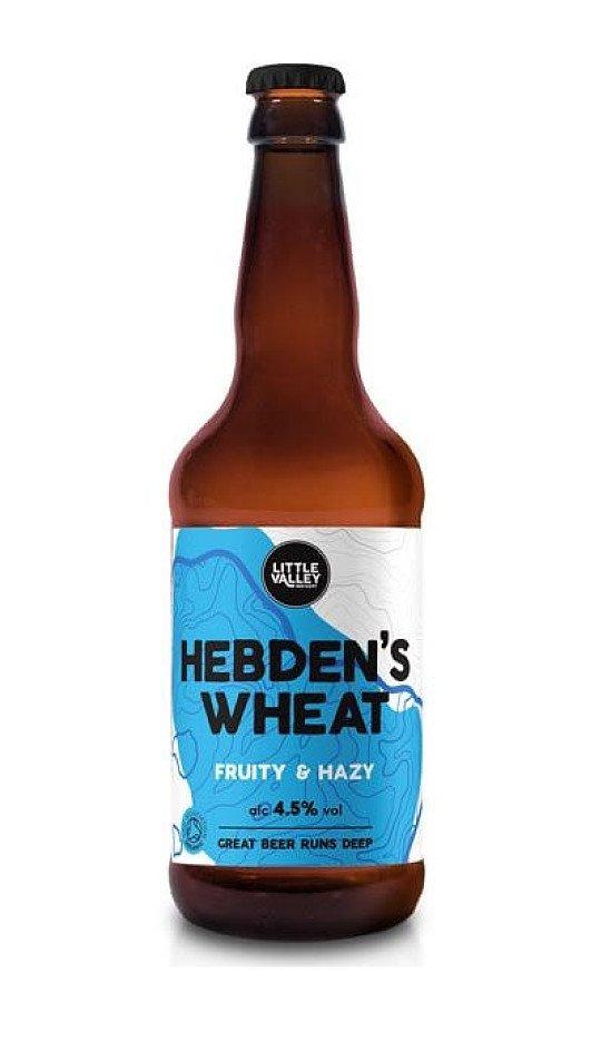 Fruity & Hazy Hebden's Wheat beer 4.5%!