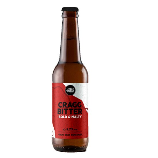 Bold & Malty Cragg Bitter Beer 4.2%!