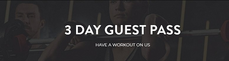Sports & Fitness Get A Free 3 Day Pass On Any OF these 120+ Gyms