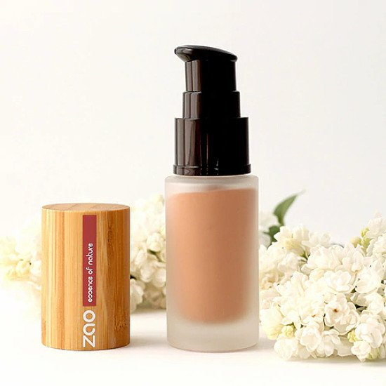 Natural & Certified Organic Silk Foundation By ZAO: £40.00!
