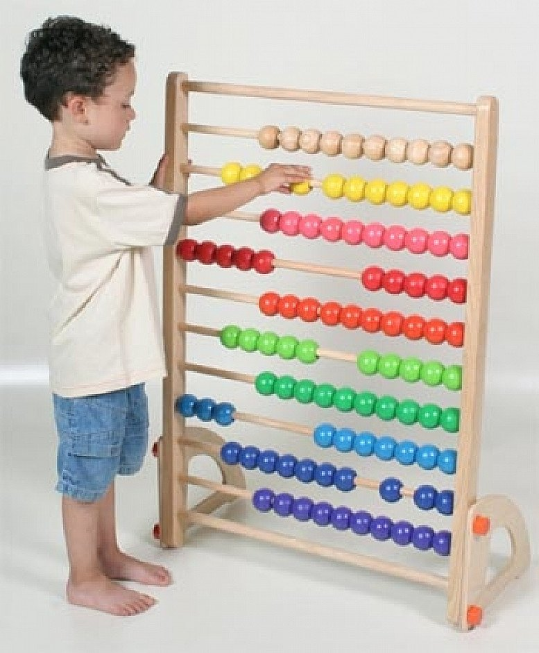Giant Stand up Wooden Abacus