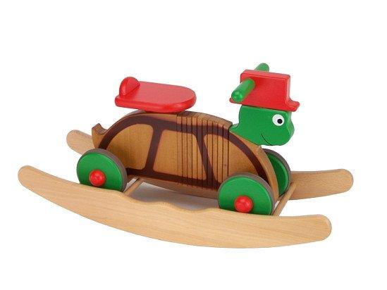 Rocker & Ride on Colourful Turtle