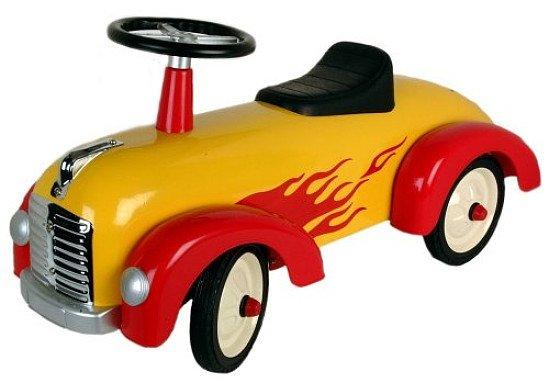 Speedster metal yellow racer