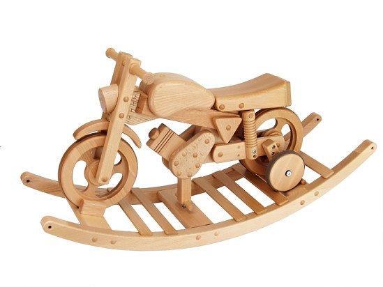 Combi Trainer Rock & Ride Wooden Bike