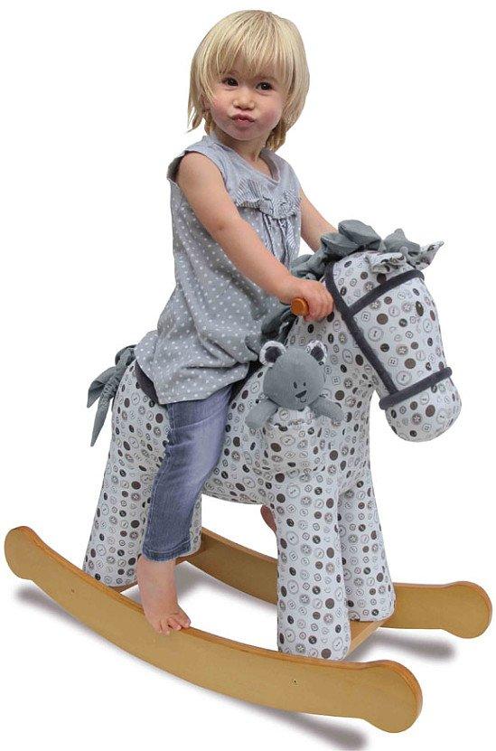 Dylan Plush Rocking Horse