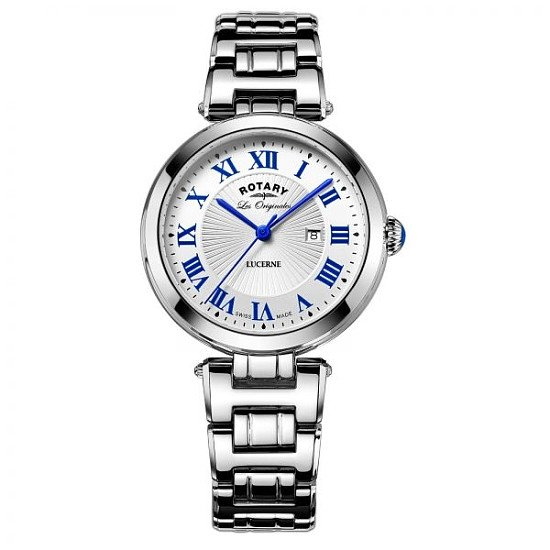 NEW Boxed Ladies Rotary 'Les Origanles' Stainless Steel Quartz Movement Watch - £249.00