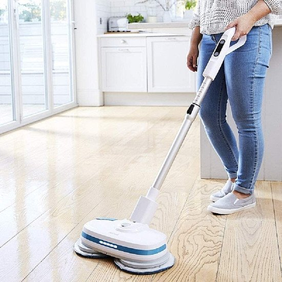 AirCraft Powerglide Cordless Hard Floor Cleaner and Polisher PGLIDEWHT - £199.99!