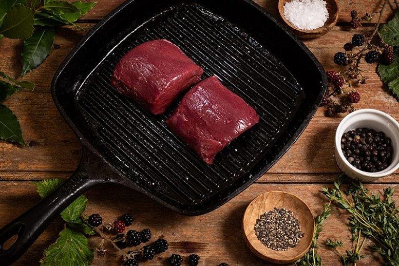 Wild Venison, Fillet Steaks (300G) - £16.95!