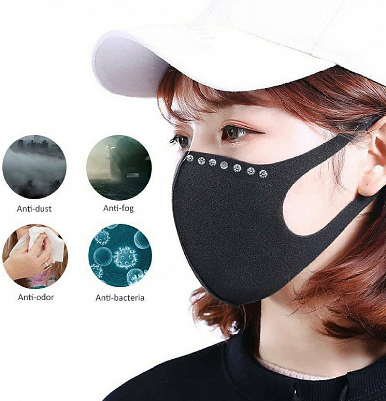 Fashionable Comfortable Durable Washable Micro-filtration Face Mask