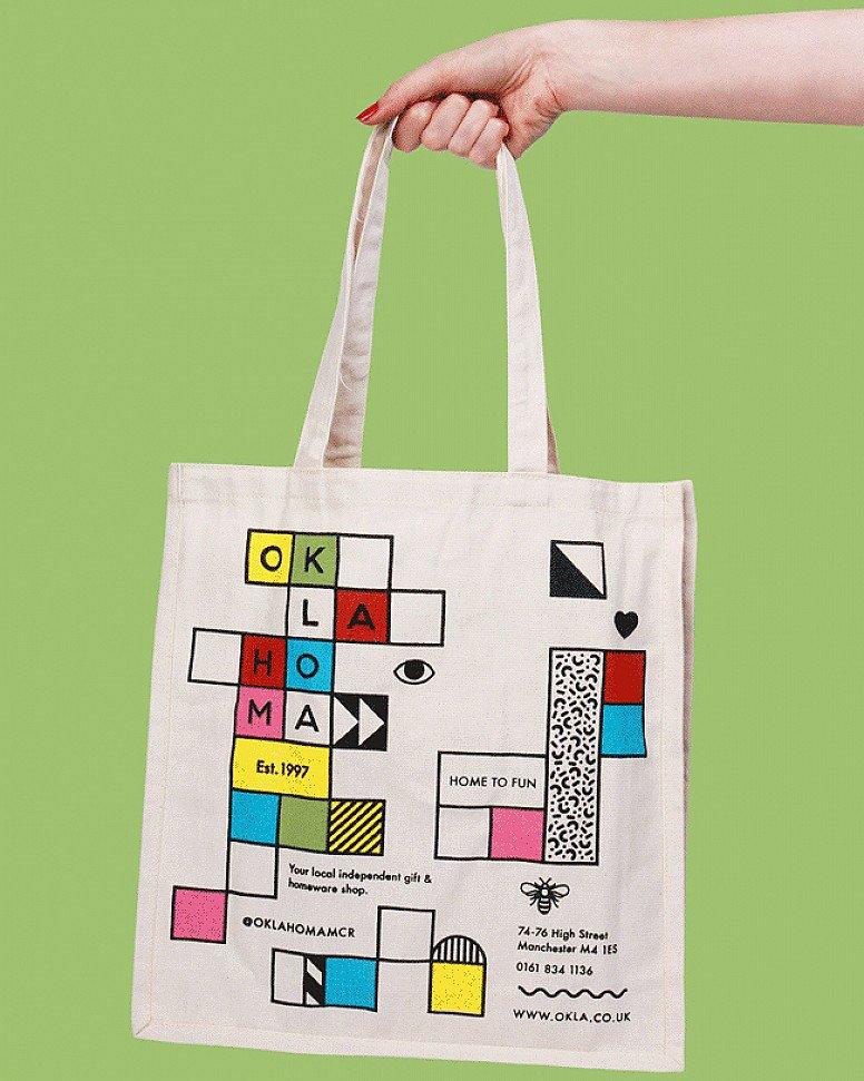 Oklahoma Tote Bag - £4.99!
