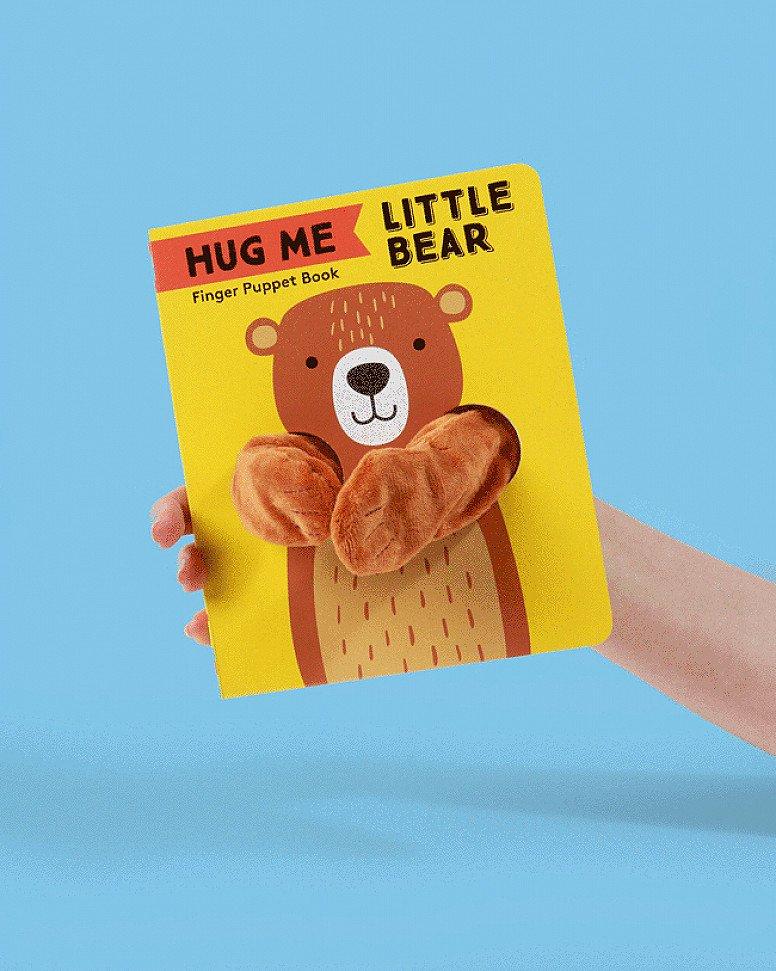 Hug Me Little Bear Finger Puppet Book: £6.99!
