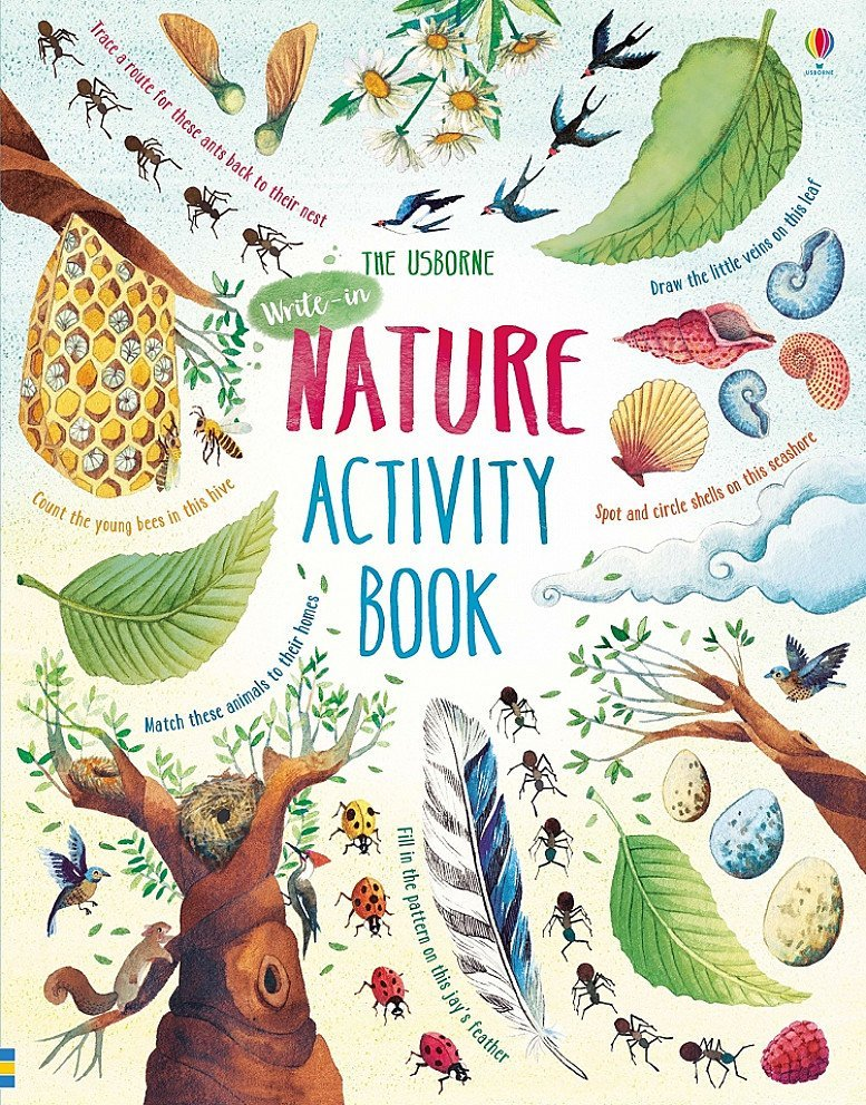 Nature Activity Book (Paperback) - £9.99