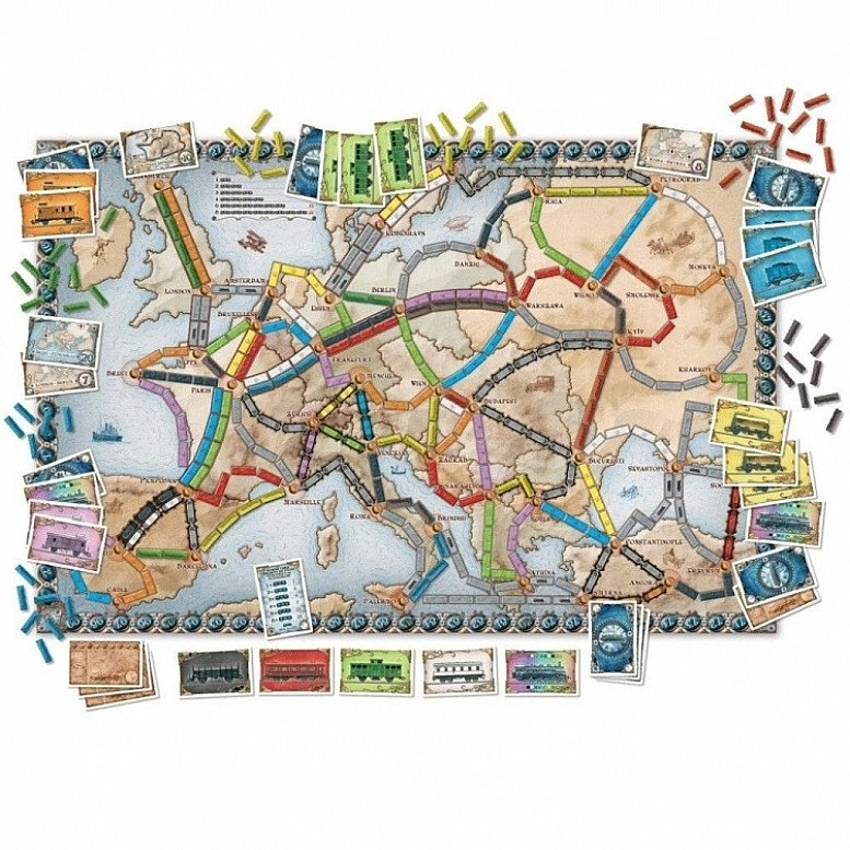 SAVE- TICKET TO RIDE EUROPE