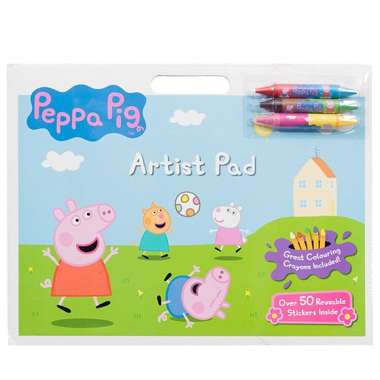 Peppa Pig Artist Pad by Peppa Pig - £3.99!