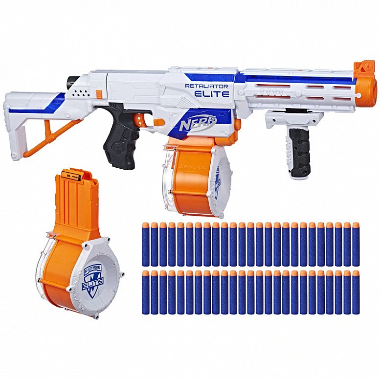 SAVE- Nerf Retaliator Elite Plus Pack
