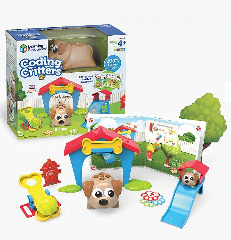 EDUCATION MEETS FUN- Learning Resources Coding Critters Ranger & Zip- £40