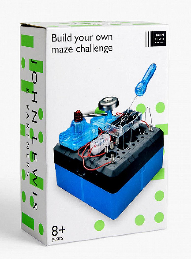 EDUCATION MEETS FUN - Build Your Own Maze Challenge- £10
