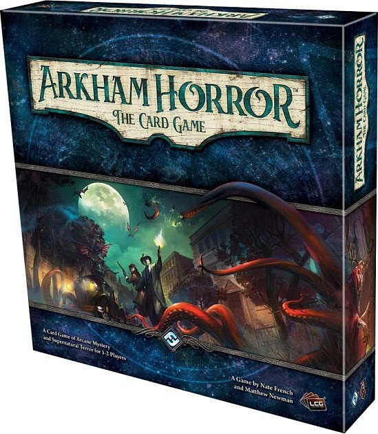 SAVE- ARKHAM HORROR: THE CARD GAME