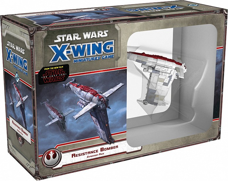SAVE- X-WING MINI GAME: RESISTANCE BOMBER EXPANSION PACK EXP