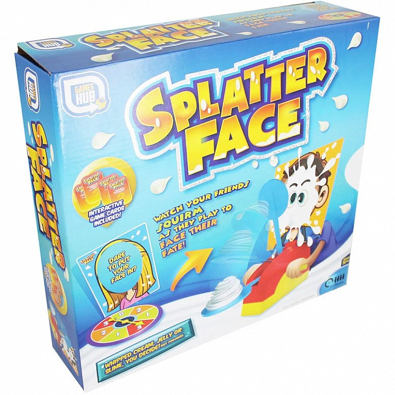 Half Price- Splatter Face