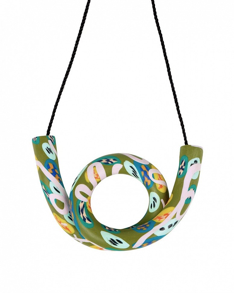 SAVE- AHJ x OKLA Olive Necklace