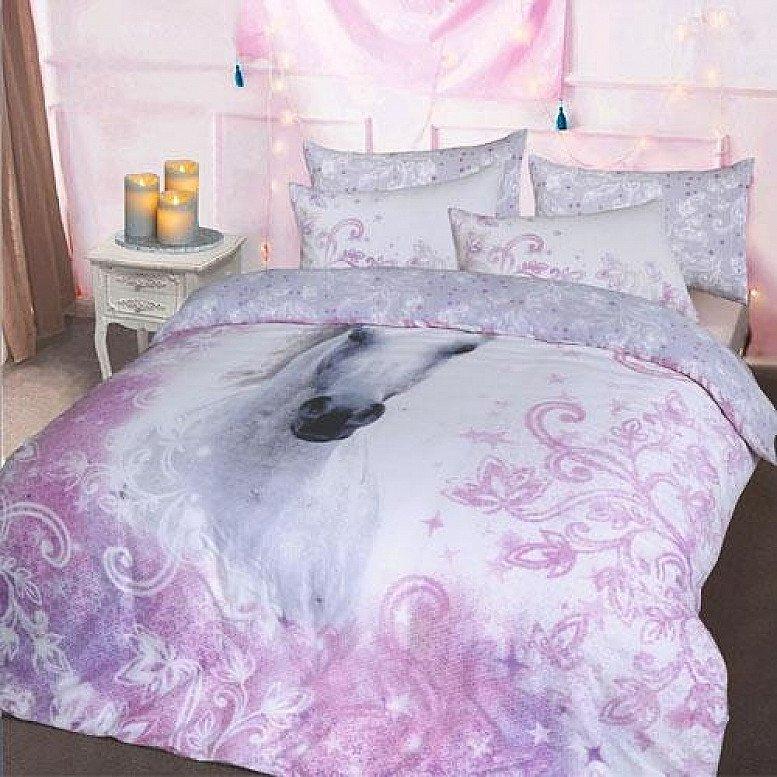Lilac Unicorn Duvet Set
