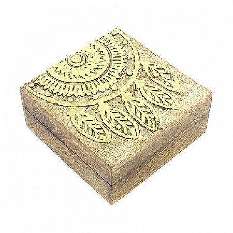 Gold Embossed Wooden Dreamcatcher Box Regular - price £15.00!