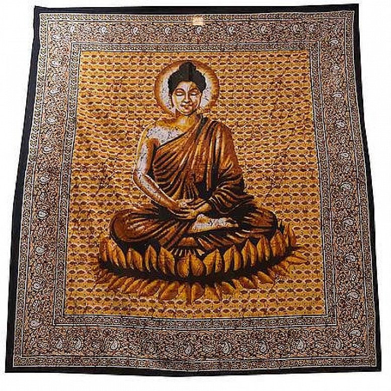 Buddha Double Bedspread Regular - price £22.00!