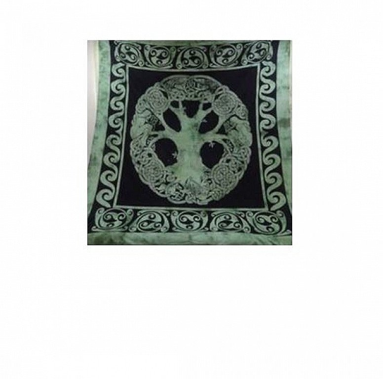 Celtic Tree of Life Double Bedspread Regular - price £22.00!