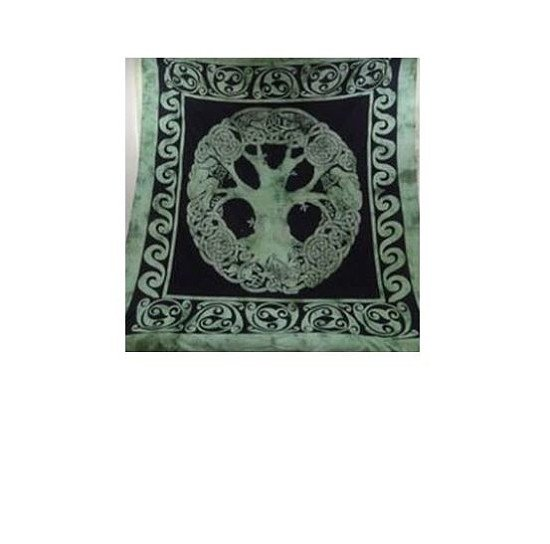 Celtic Tree of Life Double Bedspread Regular - price £22.00!