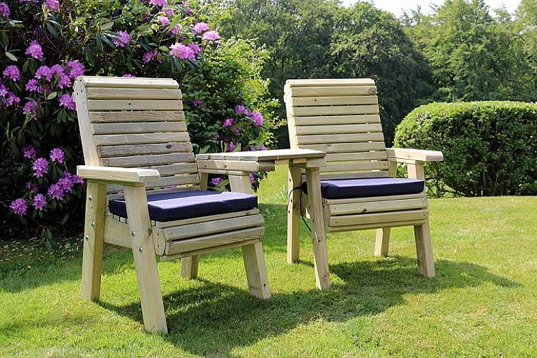 Ergonomic Companion Love Seats – 2 Seater