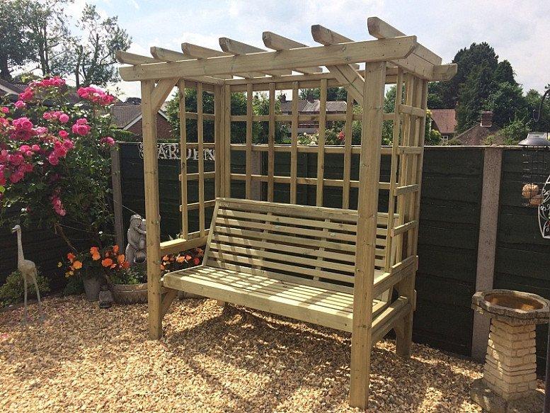 Beatrice Garden Arbour – 3 Seats
