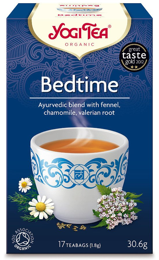 Relax at the end of the day with a cup of Yogi Organic Bedtime Tea - £2.49 for 17 Tea Bags!