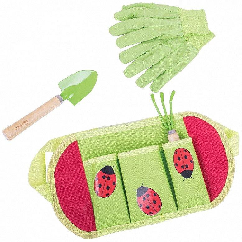 Gardening - BIGJIGS TOYS CHILDREN'S GARDEN TOOL BELT: £6.99!