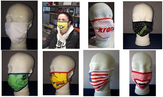 CUSTOMISED NON-MEDICAL FACE MASKS (PRECAUTIONARY FACE COVERINGS)